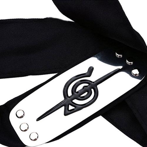 combo naruto uchiha itachi colar e bandana cosplay