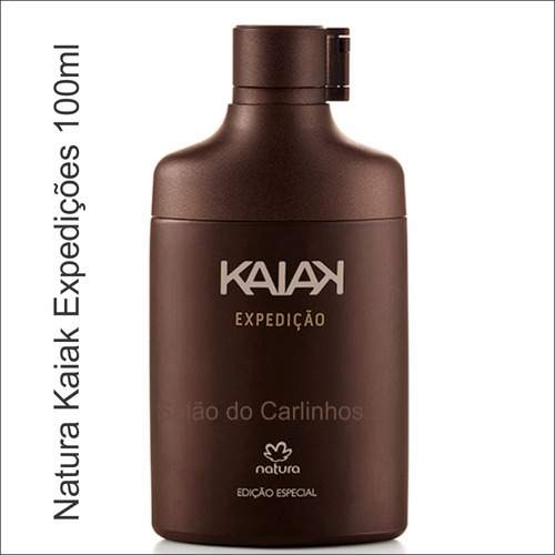 combo natura kaiak expedição + urbano + deo essencial 100ml