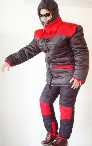 combo nieve parka chamarra pantalon ropa termica botas termi