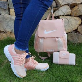 Combo Nike: Tenis , Bolso ,billetera