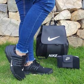 Combo Nike: Zapatos , Billetera Y Bolso