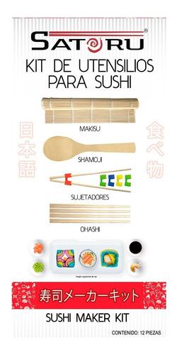 combo nori, kit utensilios y vinagre