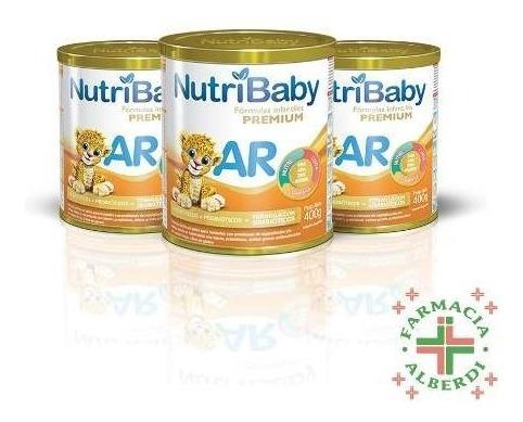 combo nutribaby ar x 400 ml x 3 unidades