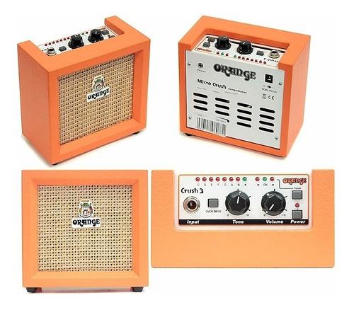 combo orange crush mini para guitarra electrica 3w 1x4