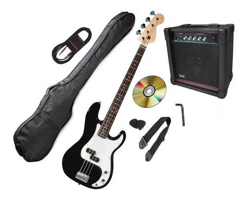 combo pack bajo electrico amplificador accesorio mod p-bass