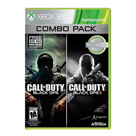 Combo Pack Call Of Duty Black Ops 1 Y 2