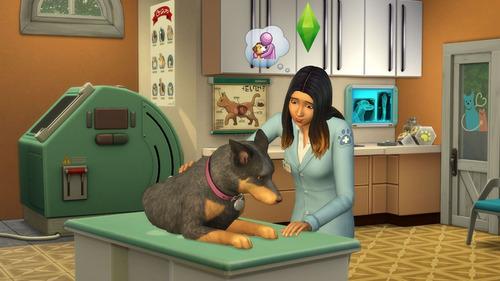 combo pack los sims 4 + perros y gatos juego pc digital