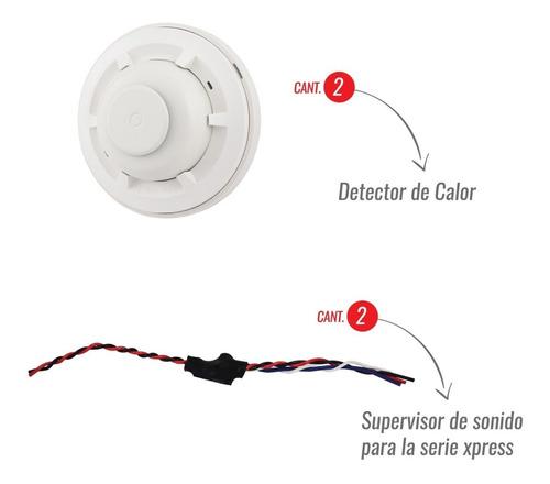 combo panel de alarma contra incendio vencontrols vc-4xpress