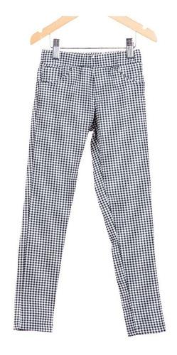 combo pantalon leggins cuadrille + sweater pelo mono nena