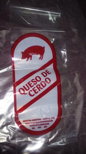combo para 10 k de queso de cerdo integral + bolsa