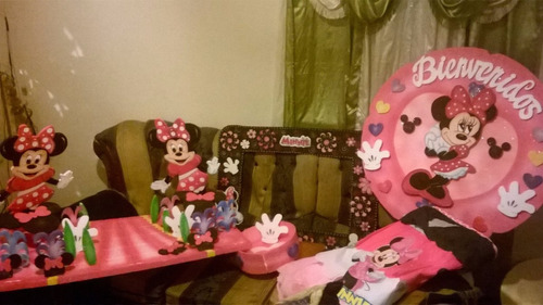 combo para fiesta de minnie mouse
