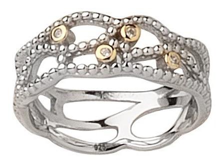 combo para revendedoras 10 anillos de plata rodinada premium
