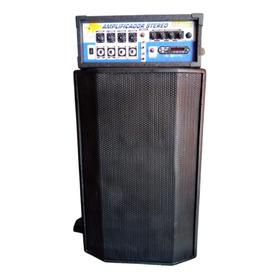 Combo Parlante 15 PuLG.  1250w- Amplificador 2500w + Tripode