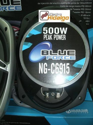 combo parlantes 6x9 blueforce 6915 **500 watts**