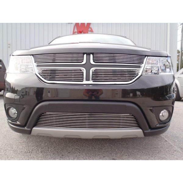 Combo Parrillas Billet Cromadas Dodge Journey Rt 2011