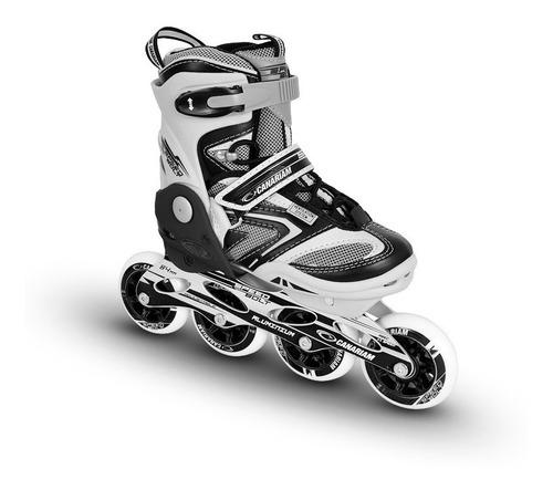 combo patines canariam bolt + kit de proteccion canariam c4