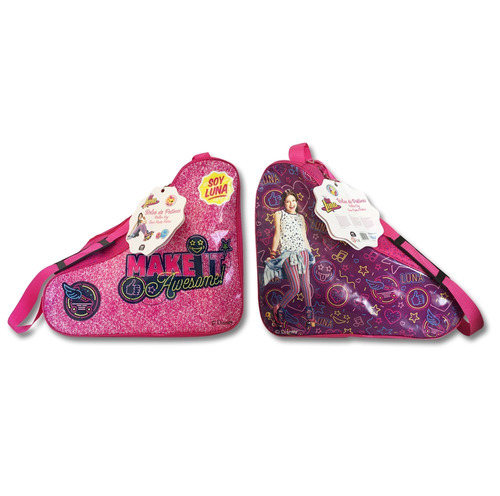 combo patines mas bolso soy luna patin julieta rosa original