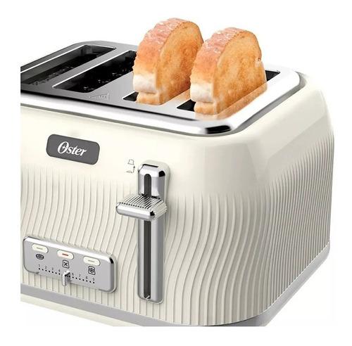 combo pava eléctrica oster modern 1,7 l y tostadora 4 panes