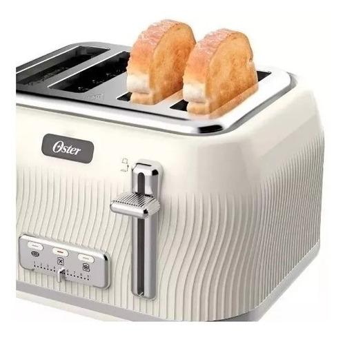 combo pava eléctrica oster modern 1,7l y tostadora 4 panes