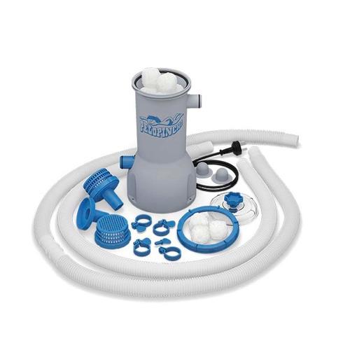 combo pelopincho bomba con filtro + kit de limpieza