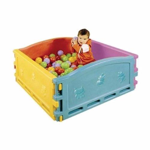 combo pelotero con pelotitas infantil para niños rotoys