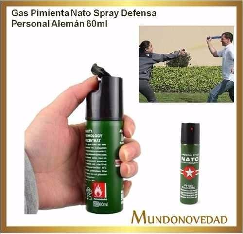 combo picana electrica americana + gas pimienta defensa pers