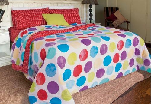 combo piero sommier alta densidad almohadas sábana acolchado