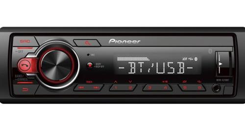 combo pioneer mxt s216bt radio bluetooth + parlantes 6 200w