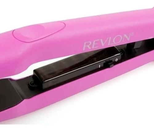 combo planchita de pelo revlon + cepillo - accesorios - 220v