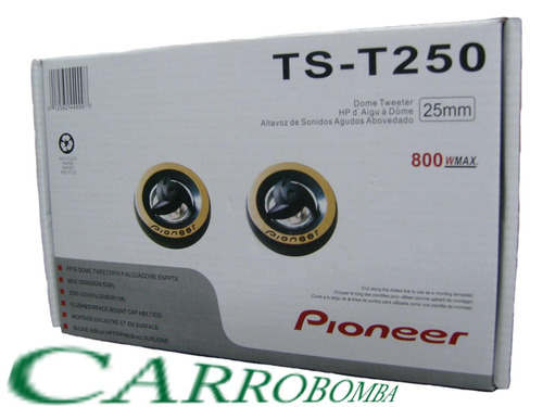 combo planta 1200w 2 can + 2 pioneer 6x9 + 2 tweeter