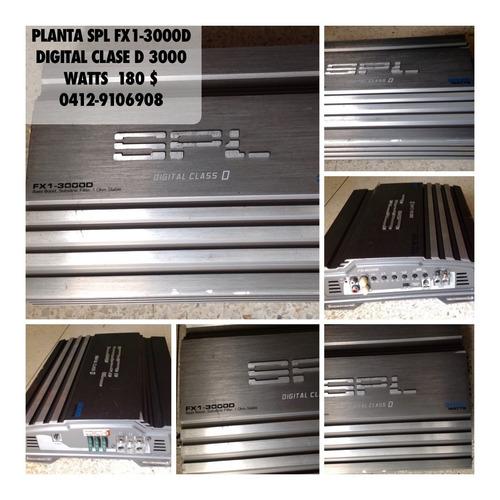 combo: planta spl fx1 - 3000d y bajo encajonado 220d