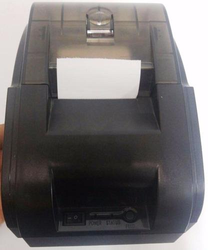 combo pos cajon monedero impresora 58mm lector con base