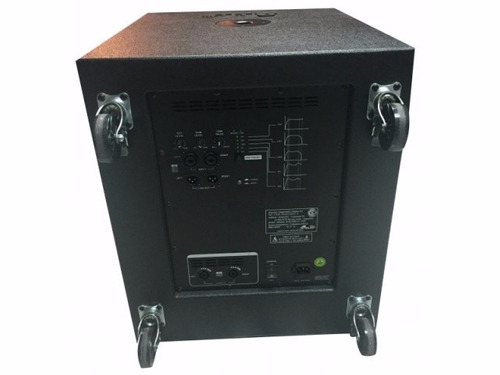 combo potenciado gbr 2- k1000 line array subwoofer 18 1200 w