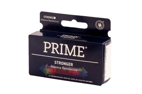 combo prime fantasy 3 vibrador + preservativos stronger x12