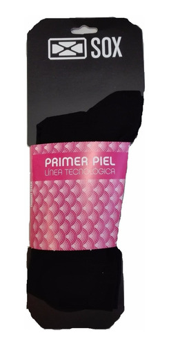combo primera segunda piel medias sox + guantes liner frio