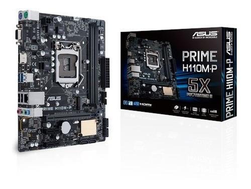 combo procesador i3 6100 y placa madre h110m-p