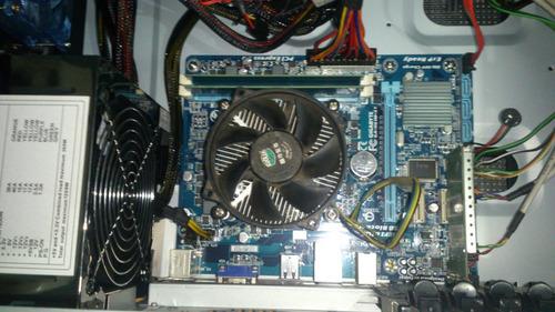 combo procesador intel core i3+tarjeta madre+8 gb ram+disco