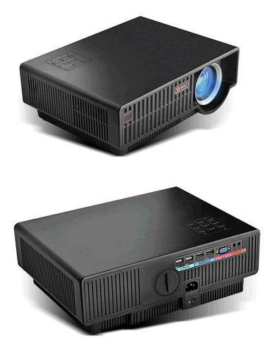 combo projetor led c90up+suporte+cabo hdmi 1,5m aproveite!