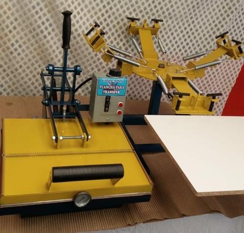combo pulpo portátil 4-1 + plancha transfer de 40x40