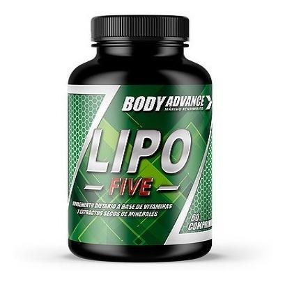 combo quemador de grasa. cla 60 comprimidos + lipo five 60 comprimidos. body advance