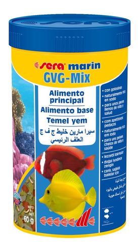 combo ração sera gvg mix 60g+ração tetra marine granules 48g
