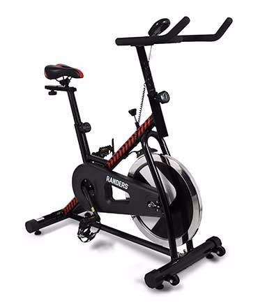 combo randers multigym c/carga + bicicleta spinning
