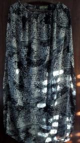 287aba4e5 Falda Larga Negra Con Remera De Vestir - Ropa y Accesorios, Usado en ...