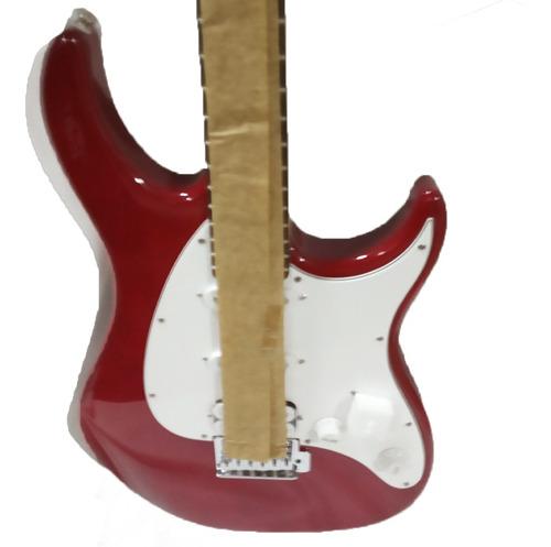 combo raptor stage pack guitarra roja