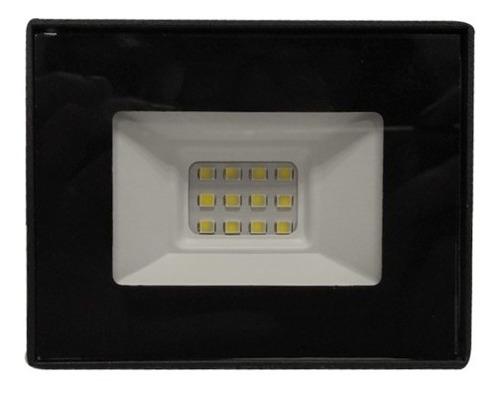 combo reflector led 10w + sensor movimiento 220v exterior