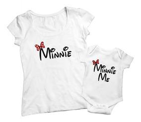 5023e8d33 Combo Remera Dia De La Madre Minnie Me Personalizada