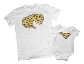 40a6ccb05 Combo Remera Dia Del Padre Estampadas Modelo Pizza