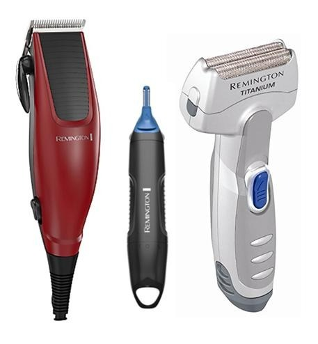 Combo Remington Corta Cabello Hc1095 + Trimmer + Afeitadora ... ad4945c77924