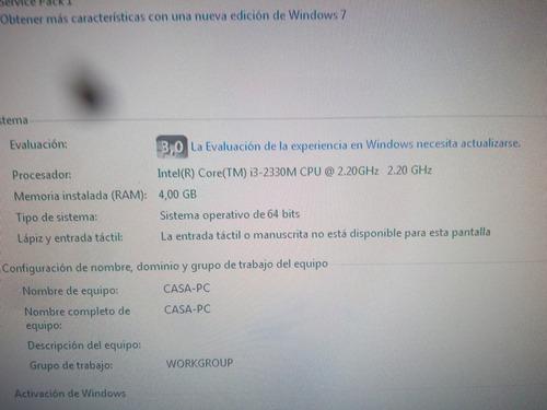 combo repuestos laptop dell inspiron n4050