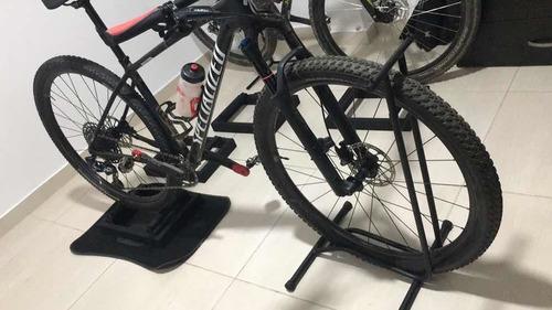 combo rodillo + base bicicleta mtb o ruta
